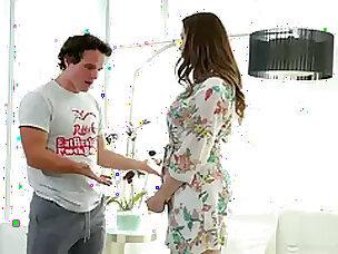 Stepson è desiderio di Mr Big dispirited matrigna Chanel Preston in sradicare doccia effetto